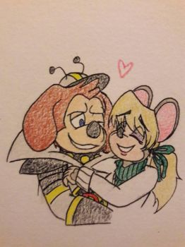 *has no clue how to use color pencils* by DorkyDarkwing