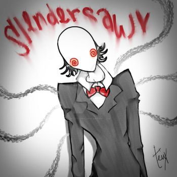 Slendersaw Wants to Play a Game by Petite-Gris