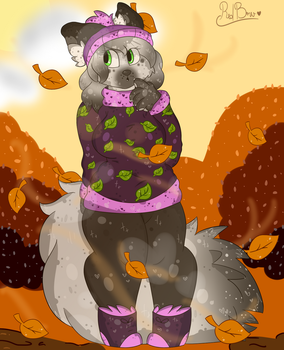 Fall is here by RedBowTheFox