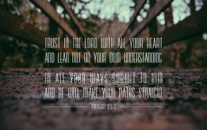 Proverbs 3:5-6 by Xiphos71