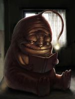 Bookie monster by Rats-in-the-van