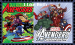 I like Both Avengers by WOLFBLADE111