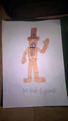 Fredrick Fazz for Nick-Fazwolf by madnessfoxywolf