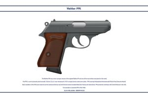 Walther PPK 1 by WS-Clave
