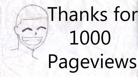 THANKS 1000 Pageviews by ShardRiver