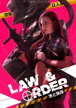 Law and Order by johnsonting