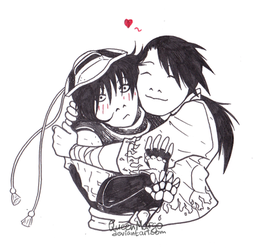 FMA: hug by QueenMargo