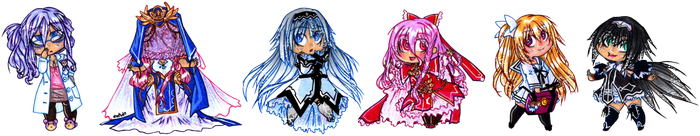 And the rest of the Date a Live spirits by suzux