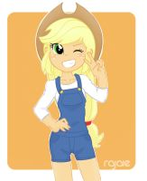 Applejack by Rajaie