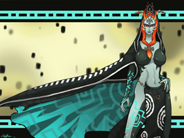 Twilight Princess: Midna by Darkbutterfly137