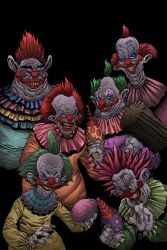 Killer clowns from outer space by OlegGreen