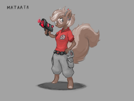 Agent cam - Awesomenauts by JackAstrale