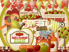 Share Res Apple Scrapbook by LeosDark-Moon