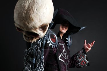 WOW Warlock T5 Cosplay by Crimson-Shirou
