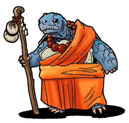 Turtle Monk by Shabazik