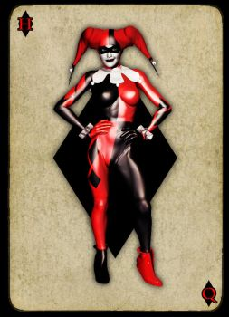 Harley Quinn by graphicpoetry