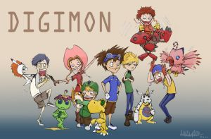 DIGIMON by croonstreet