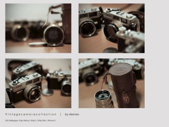 Vintage Camera Collection by deoneo