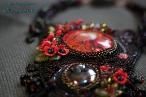 Faun Labyrinth necklace 4 by JustOldPurpleAngel