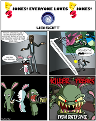 E3 Jokes for Ubisoft by madfather