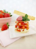 Strawberry Phyllo Napoleons by TreeseRB