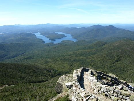 Atop Whiteface by Artist-A