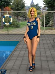 Carrie's Orlando Magic Swimsuit by ImfamousE