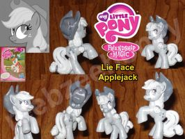 Lie Face Applejack by Stitchfan
