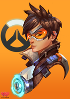 Tracer minimal painting by Siga4BDN