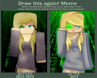 Before And After - I see what I like by CrystalWolfXx
