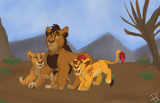 Kopa, Just play with your siblings. by Genocide-Knight