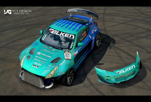 Falken Team 370Z by ygt-design
