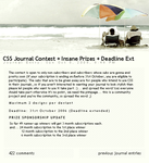 CSS Journal Contest Entry by fallen-sagittarian