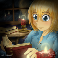 Armin Arlert - Reading by Isi-Daddy