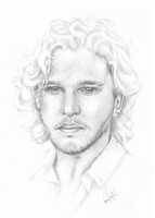 Kit Harington by RonjaKnippers