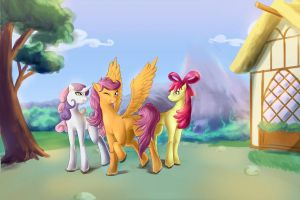 CMCs all grown up by LaWeegie