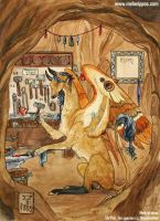Moth - The Forge of Four Bells by melanippos