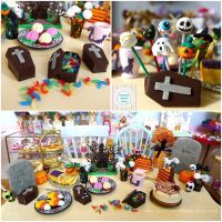 Littlest Sweet Shop new 2015 Halloween Collection  by LittlestSweetShop