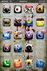 Saw iPhone theme by kimdelee