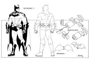 Batman redesign by Devilpig