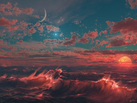 Ocean of Fire by Gate-To-Nowhere