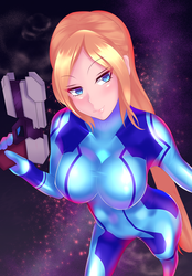 Zero suit Samus by volyzsan