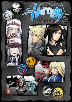 4gamers num.1 -COVER- by Lina17Inverse