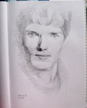 doodle dump - Colin Morgan by katesw