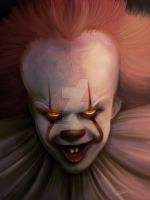 Pennywise by xsketch93