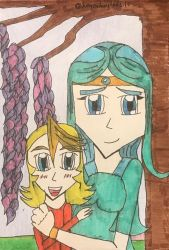 Under the Wisteria (Andrs version) by legendarylady13