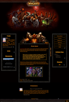 szablon 62 - Warlords of Draenor by Anaya21