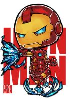 Chibi Ironman by Jrpencil