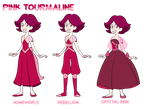 - COMMISSION_Pink Torumaline - by PencilTree