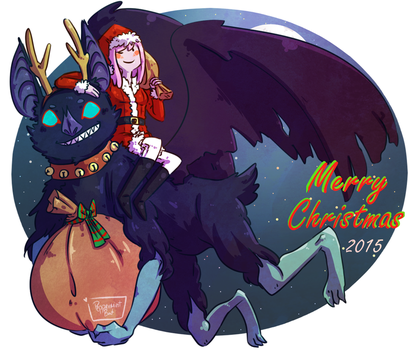 Merry Christmas 2015 by PeppermintBat